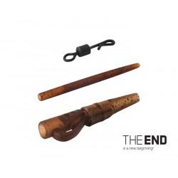 Montáž THE END na olovo pin-quick / 5ks