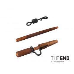 Montáž THE END na olovo heavy-quick / 4ks