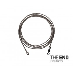 Nadväzec THE END Leadcore + swivel / 3ks