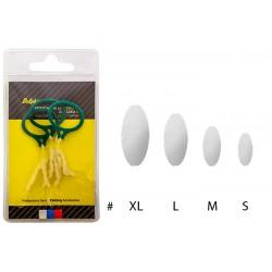 Priehľadná silikónová zarážka / 3ks