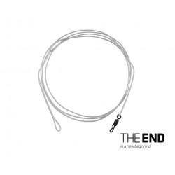 Nadväzec Delphin THE END FLRcarbon Leader / 1ks | 100 cm / 30lbs