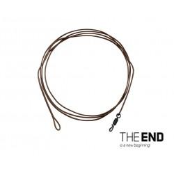 Nadväzec Delphin THE END Aramid Leader / 1ks | 100 cm / 60lbs
