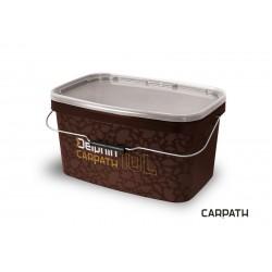 Hranaté vedro s vrchnákom Delphin CARPATH 10l