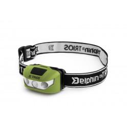Čelová lampa Delphin TRIOS | 1W